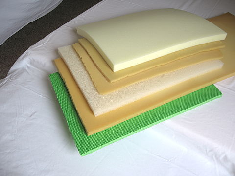 layers of foam for pillow